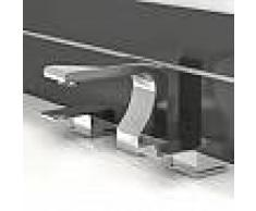 Treos Serie 178 3-Loch-Waschtischarmatur mit Ablaufgarnitur 178.01.2000