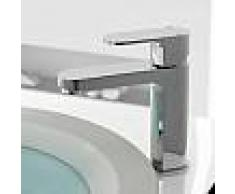 Treos Serie 173 Einhebel-Waschtischarmatur mit nicht verschließbarer Ablaufgarnitur 173.01.1036