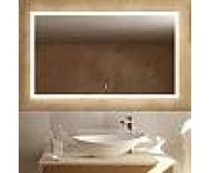 Treos Serie 620 Spiegel mit LED-Beleuchtung B: 120 H: 70 T: 4,1 cm 620.06.8120, EEK: A+