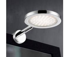 Wofi Suri LED Klemmleuchte Ø 10 H: 3,5 T: 16,5 cm, chrom 4622.01.01.0044, EEK: A+