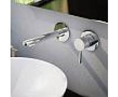 Treos Serie 190 2-Loch-Wand-Waschtischarmatur Ausladung: 190 mm 190.01.1815