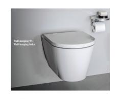 Laufen Wand-WC Kartell by Laufen 370x545, weiß, Tiefspüler, spülrandlos, 82033.6, 8203360000001 H8203360000001