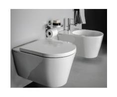 Laufen Wand-WC Kartell by Laufen 370x545, weiß mit LCC, Tiefspüler, spülrandlos, 82033.6, 8203364000 H8203364000001