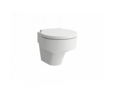 Laufen Wand-WC, VAL, 390x530, weiß LCC, Tiefspüler, spülrandlos, 8.2028.1.400.000.1 H8202814000001