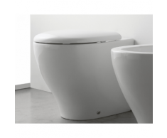 Globo Bowl+ Stand-WC, B: 380, T: 500, H: 440 mm, weiss BP002BI