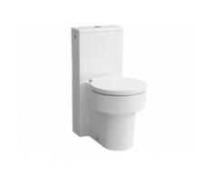 Laufen Stand-WC für Kombination, VAL, 390x660, weiß, Tiefspüler, spülrandlos, 8.2428.1.000.000.1 H8242810000001