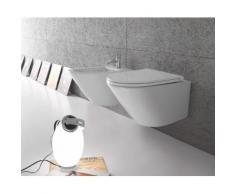 Globo Forty3 Wand-Tiefspül-WC, B: 360, T: 520, H: 430 mm, FOS03.BI, weiss FOS03.BI