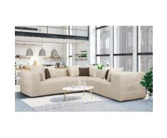 Places of Style Ecksofa Novum, beige, Neutral, creme