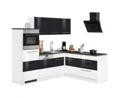 Winkelküche Trient, ohne E-Geräte, Stellbreite 230 x 190 cm weiß Trient Küchenserien Küchenmöbel Arbeitsmöbel-Sets