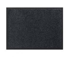 Leonique Fußmatte Aubrie, rechteckig, 9 mm Höhe grau Designer Fußmatten