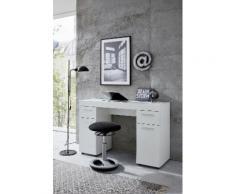 trendteam Schreibtisch Amanda, variabel auch als Schminktisch einsetzbar mit dem Spiegel 88435001 weiß Schreibtische Bürotische und Büromöbel Tisch