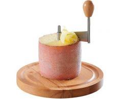 KESPER for kitchen & home Käsehobel Buchenholz, beige, natur-edelstahlfarben
