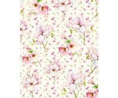 Komar Vlies Fototapete Magnolia, rosa, rosa