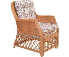 Home affaire Rattanstuhl braun Funktionssessel Sessel Stühle