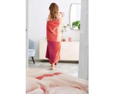 Wohndecke Jacquard sOliver, rosa, orange-pink