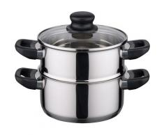 Elo - Meine Küche Dampfgartopf Juwel de Luxe (1-tlg.) silberfarben Gemüsetöpfe Töpfe Haushaltswaren Topf