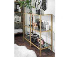 Paroli Sideboard Regal, goldfarben, gold