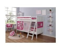 Ticaa Etagenbett Erni weiß Kinder Kinderbetten Kindermöbel Etagenbetten