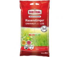 Scotts Substral Rasendünger 2 in 1 UNKRAUT bleibt chancenLOS, 9,1 kg grün Zubehör Pflanzen Garten Balkon