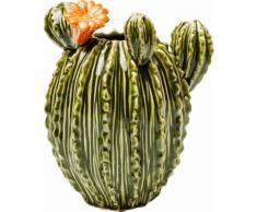 KARE Design Vase Texas Kaktus Flower, grün, grün