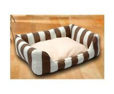 SILVIO design Tierbett Kuschelsofa, Polyester, in versch. Größen braun Katzenkörbe -kissen Katze Tierbedarf