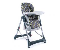 CHIC4BABY Hochstuhl Enjoy, mit verstellbarer Sitzposition bunt Baby Mitwachsende Hochstühle Babymöbel