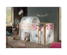Vipack Hochbett Pino, wahlweise mit Rutsche beige Kinder Hochbetten Kinderbetten Betten
