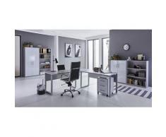 BMG Büro-Set Tabor Office 1, (Set, 8 St.) grau Arbeitszimmer Büro Made in Germany - Möbel