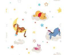 Disney Papiertapete Pu der Bär, Mehrfarbig - 10m x 52cm bunt