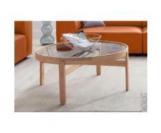 andas Couchtisch Tydal beige Couchtische rund oval Tische Tisch