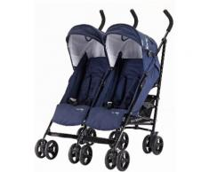 knorr-baby Zwillingsbuggy Side by Side navy blue, blau, Unisex, navy blue