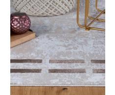 Obsession Teppich My Opal 915, rechteckig, 10 mm Höhe, Pastell-Farben, Wohnzimmer beige Schlafzimmerteppiche Teppiche nach Räumen