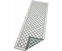 bougari Läufer Sydney, rechteckig, 5 mm Höhe, In- und Outdoor geeignet, Wendeteppich grün Teppichläufer Bettumrandungen Teppiche