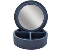 Ridder Aufbewahrungsbox Cement, mit integriertem Spiegel grau Körbe Boxen Regal- Ordnungssysteme Küche Ordnung