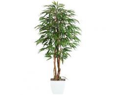 Gasper Kunstpflanze Weeping-Ficus, grün, grün