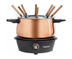 bestron Fondue AFD850CO orange Küchenkleingeräte Haushaltsgeräte Fondues