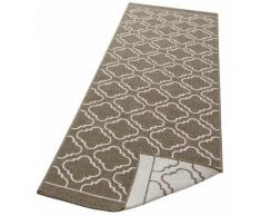 Läufer, Laila, my home, rechteckig, Höhe 5 mm, maschinell gewebt braun Küchenläufer Läufer Bettumrandungen Teppiche