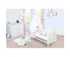 Pinolino Babymöbel-Set Viktoria (2-tlg) weiß Baby Baby-Möbel-Sets Babymöbel Schlafzimmermöbel-Sets