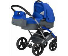 knorr-baby Kombi Kinderwagen Set, »Voletto Sport, grau-blau«, blau, Unisex, grau-blau