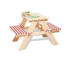 """Pinolino Kinder-Sitzauflage """"Nicki"""", rot, Unisex, rot-weiß"""