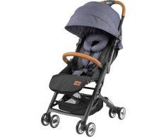 Gesslein Kinder-Buggy Babies Smiloo Cuby, jeansblau-meliert blau Kinder Liegebuggys Buggys Kinderwagen Buggies