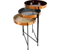 Kayoom Tabletttisch Beistelltisch Morrison 125, verstellbares Gestell für verschiedene Stellvarianten bunt Beistelltische Tische Tisch