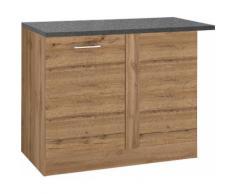 HELD MÖBEL Eckunterschrank Colmar, 110 cm, mit Metallgriff beige Unterschränke Küchenschränke Küchenmöbel Schränke