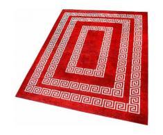 Sehrazat Läufer Majestik 1800, rechteckig, 5 mm Höhe rot Teppichläufer Bettumrandungen Teppiche