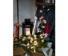 KONSTSMIDE LED Dekolichterkette, Sterne farblos Lichterketten und Lichtschlauch Dekoleuchten Lampen Leuchten Saisonartikel Weihnachten