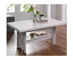 HELA Couchtisch weiß Höhenverstellbare Couchtische Tische Tisch