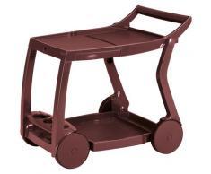 Best Servierwagen Galileo, Kunststoff, BxLxH: 84x60x76 cm rot Küchenaccessoires Wohnaccessoires