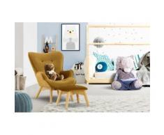 Lüttenhütt Sessel Duca Mini, in kleiner Ausführung für Kinder goldfarben Ohrensessel und Hocker Sofas Couches