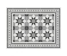Contento Platzset Matteo, Fliesen, grau, (Set, 4 St.), für innen und außen geeignet, wasserabweisend grau Tischdecken Tischwäsche