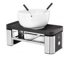 WMF Raclette und Fondue-Set KÜCHENminis für Zwei, 3 Raclettepfännchen, 370 Watt silberfarben Küchenkleingeräte Haushaltsgeräte